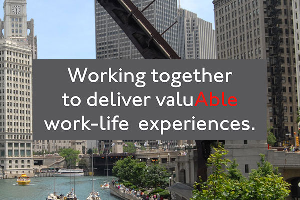Working together to deliver valuAble work-life experiences